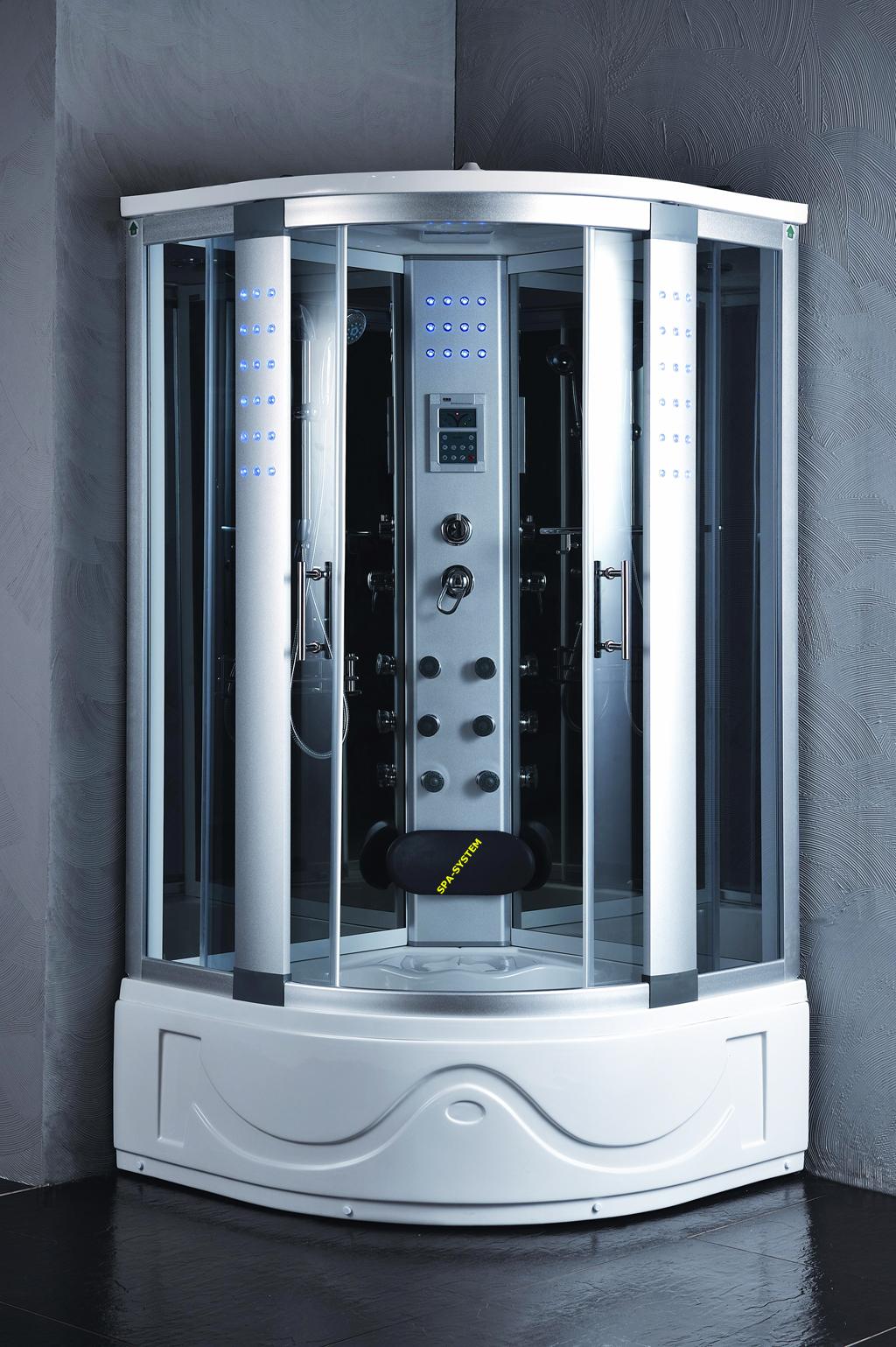 Kabiny prysznicowe z hydromasażem K004 105x105
