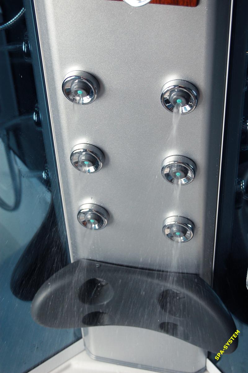 Sauna parową z kabiną prysznicową K004 105x105cm