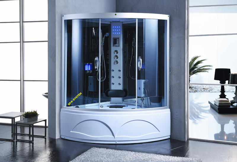 Kabina Prysznicowa z Hydromasażem i Sauną i Jacuzzi - model K006