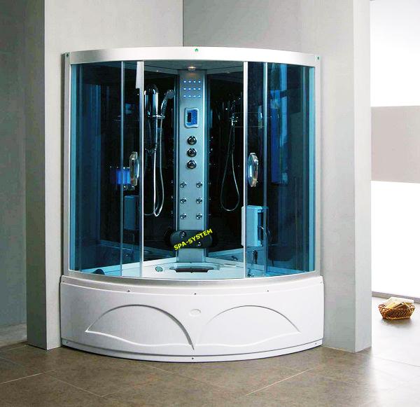 135x135cm dusche mit hydromassage sauna jacuzi salon spa aus polen ebay. Black Bedroom Furniture Sets. Home Design Ideas