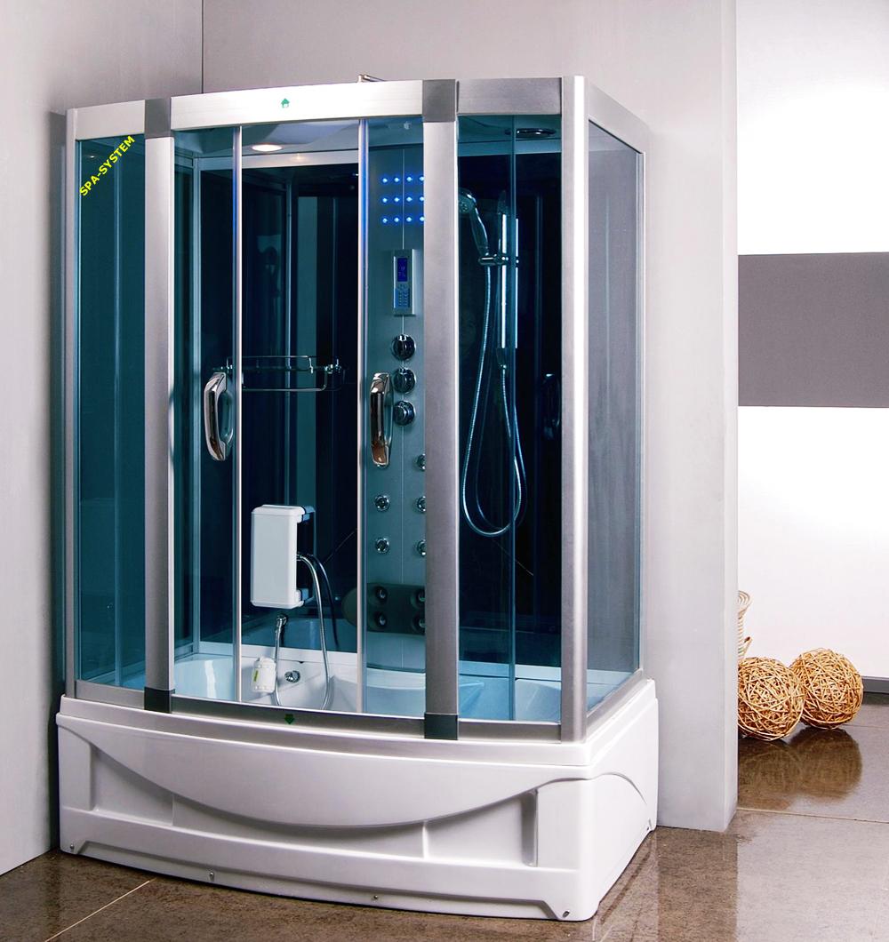 Kabina prysznicowa z hydromasażem K023 135x80cm