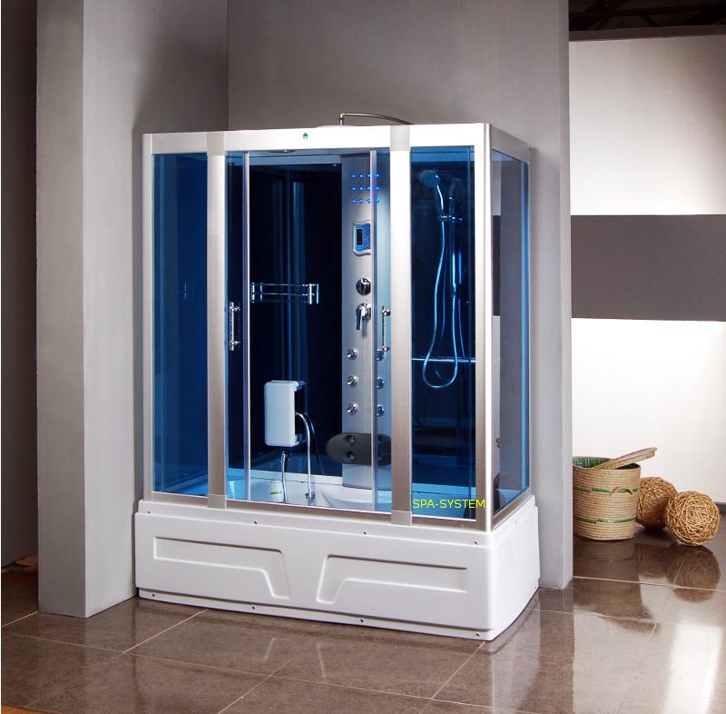 Kabina Prysznicowa Z Hydromasażem I Sauną K026 160x85cm