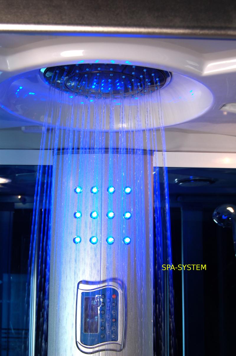 Wanna z kabiną prysznicową 160x85cm