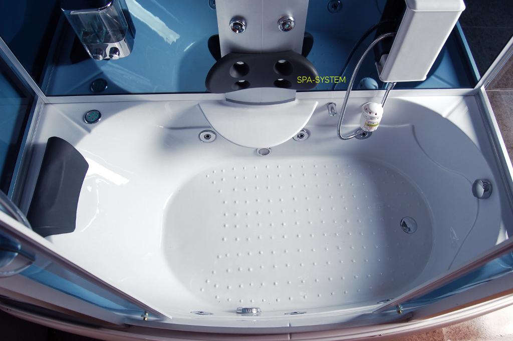 Wanna z kabiną prysznicową 175x90cm